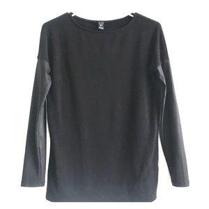 Windsor, black long sleeves shirt!