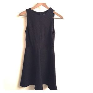 Xhiliration Black Textured Dress (sz. M)