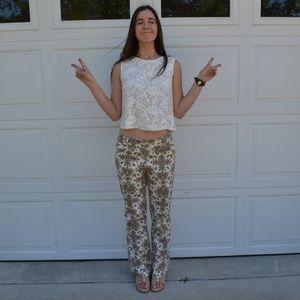 Nicole by Nicole Miller Pants - Nicole Miller Whimsical Print Pants size 8