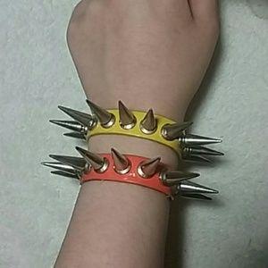 Spiked cuffs