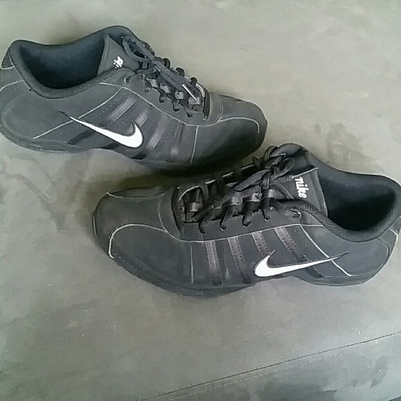 Nike Shoes - Black and white Nikes