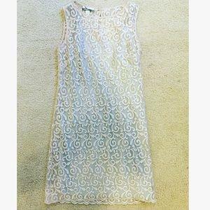 Sheer glitter dress