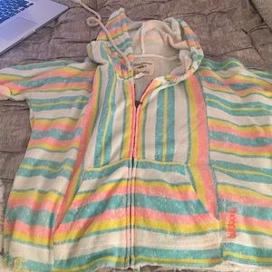 Billabong sweatshirt/cute beach coverup