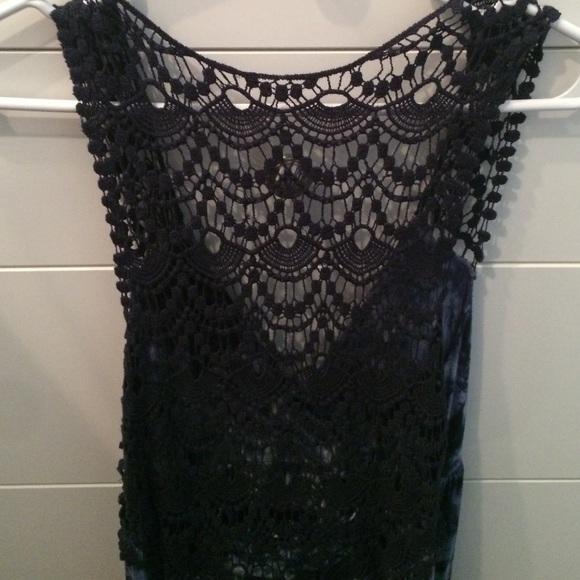 Off Ab Studio Dresses Skirts Blue Tie Dye Maxi Dress From