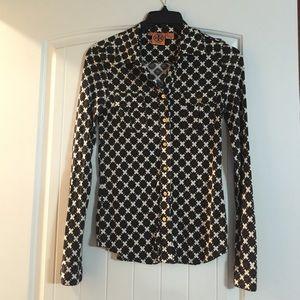 86 off tory burch tops tory burch button down shirt for Tory burch button down shirt