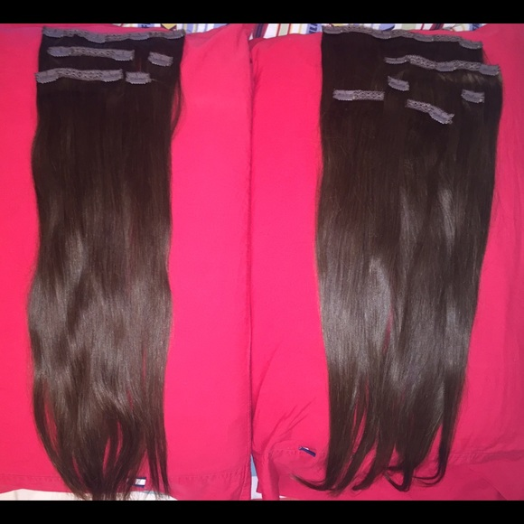 Bellami Other Chocolate Brown Hair Extensions 22 Inches Poshmark