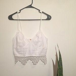 8e268c6dd16 Free People Intimates   Sleepwear - FP One geo lace bralette NWOT