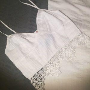 caa956afa7 Free People Intimates   Sleepwear - FP One geo lace bralette NWOT