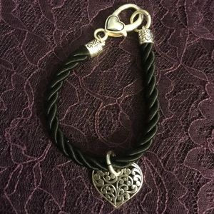 Jewelry - Heart rope charm bracelet