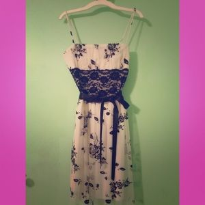 Taboo Floral Dress