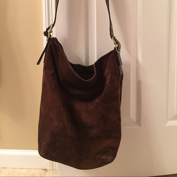 Top Coach Bags | Vintage Brown Suede Bucket Bag | Poshmark MX98