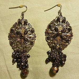 Jewelry - 💝Chandelier Earrings Black