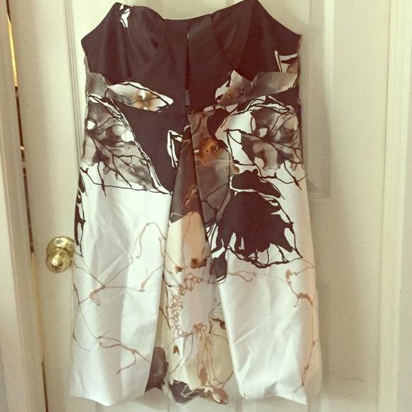 95% off ABS Allen Schwartz Dresses &amp Skirts - Elegant strapless ...