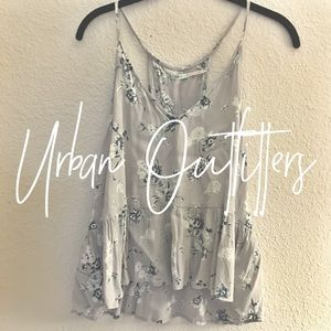 Urban Outfitters / floral tank