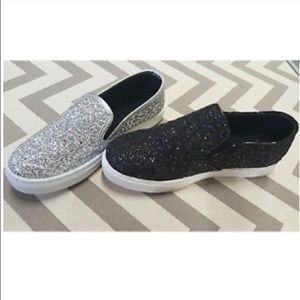 Shoes - Trendy slip on glitter sneakers
