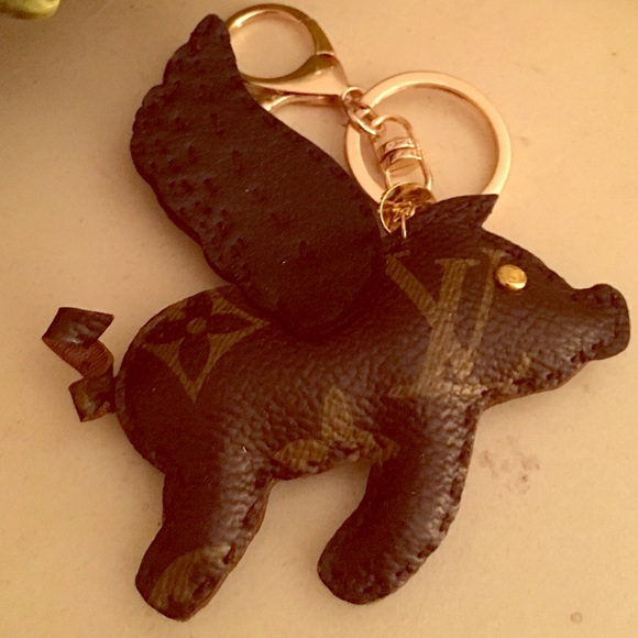 Louis Vuitton Accessories Handmade Flying Pig Charm Poshmark