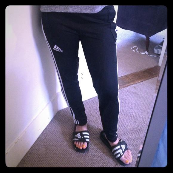 adidas poly leggings