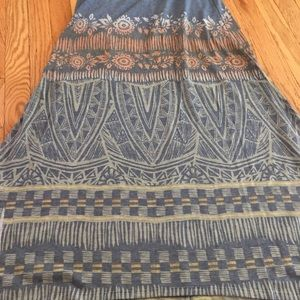 Francesca's Collections Skirts - Patterned maxi skirt