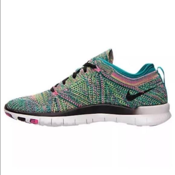 cf3564e690f3 Womens Nike Free TR Flyknit Multicolor  718785-300