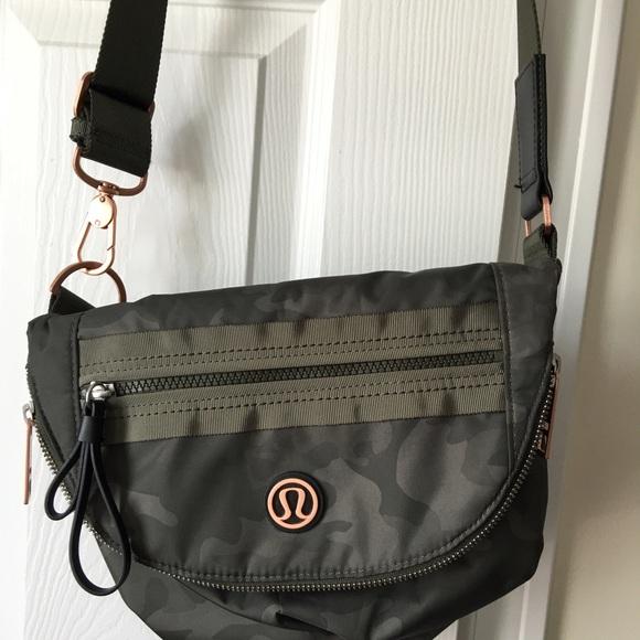 4a4e4f2fa280 lululemon athletica Handbags - Lululemon festival bag in camouflage!
