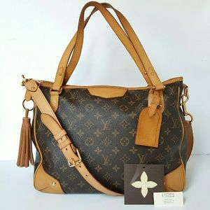 LOUIS VUITTON MONOGRAM ESTRELA MM BAG