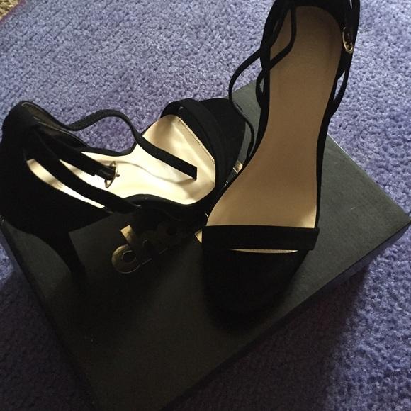 5 Inch Black Heels