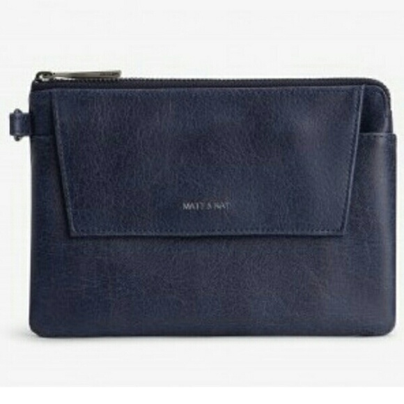 efb67dc4ceb5 Matt & Nat Bags | Matt And Nat Maya Large Vintage Wallet Midnight ...