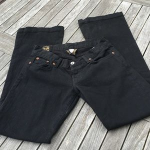 Lucky Brand Lil Maggie Black Jeans 4 27
