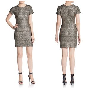 Collective Concepts Gold Metallic Dress