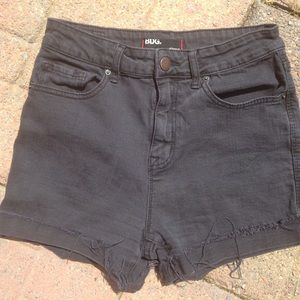 BDG Urban Outfitters  Pants - BDG High Rise Black Shorts Urban Outfitters
