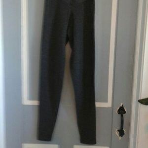 Barneys New York CO-OP Pants - Grey Cashmere leggings