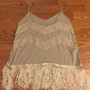 American Eagle Outfitters Fringe top