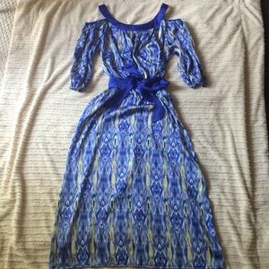 SOLD* Hot in Hollywood ikat dress