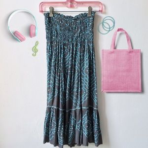 Cool Change Dresses & Skirts - Cool Change Strapless Dress w/Sequins