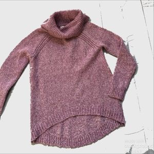 Sweaters - NWT Plum Baggy Sweater Turtleneck