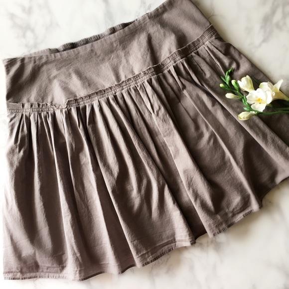 Banana Republic Cotton Flowy Skirt