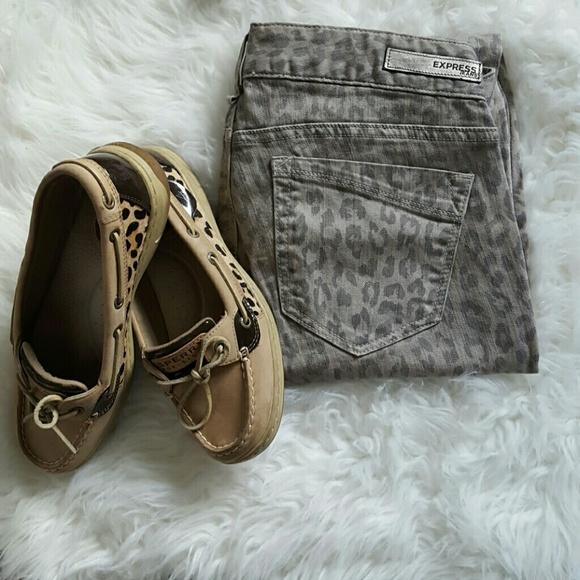 Express Pants - Cheetah Print Express Pants