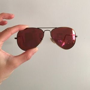 ray ban limited edition aviator metal sunglasses