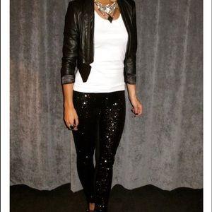 Grane Denim - Black sequin jeans