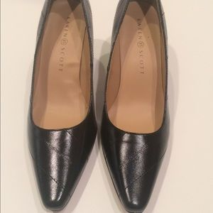 Karen Scott Shoes - New Karen Scott 6.5 Black Faux Leather Pumps