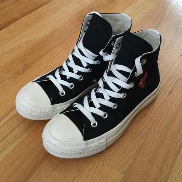 33af53615487 Comme des Garcons Shoes - COMMES DES GARÇON HI TOP CONVERSE
