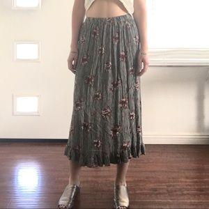Vintage 90's maxi skirt