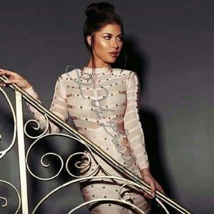 Que Dresses & Skirts - Celebrity Bandage Dress