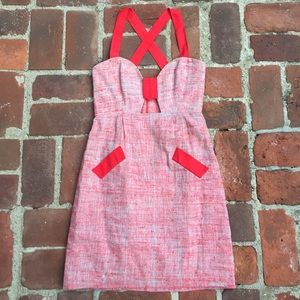 Leona Edminston Dresses & Skirts - Leona Red Dress