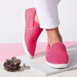 New Joie pink kidmore sneakers