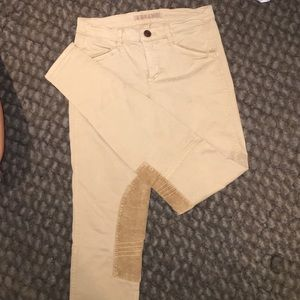 J brand riding pants, skinny, size 27