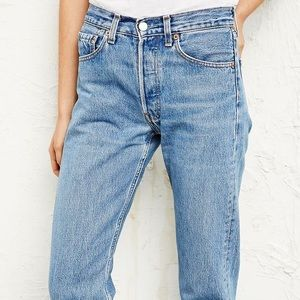 Vintage Levi's 501 High Waisted Jeans