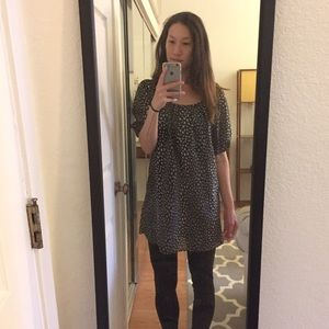 Speckled Print Tunic