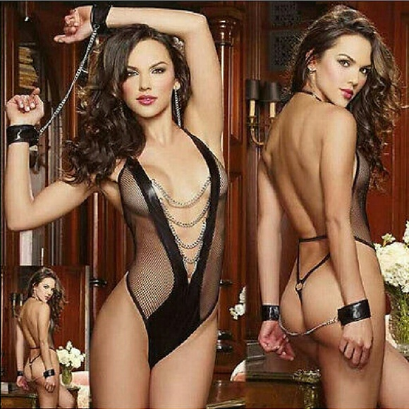 Lingerie and handcuffs