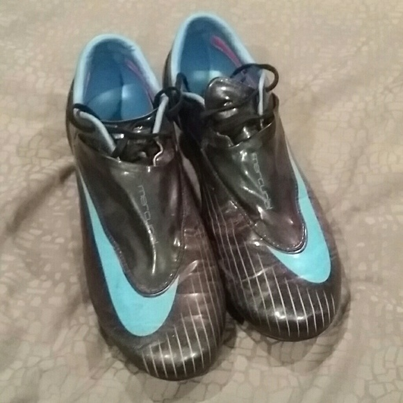nike shoes mercurial cleats w lace covers poshmark